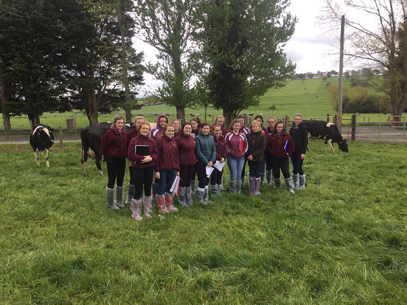 Ag Science Trip To UCD Lyons Research Farm
