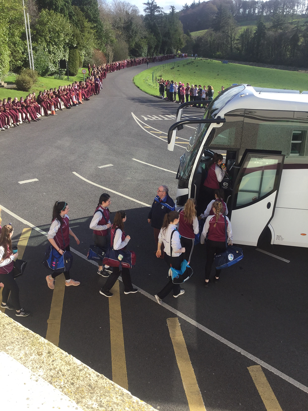All Ireland Team Send Off