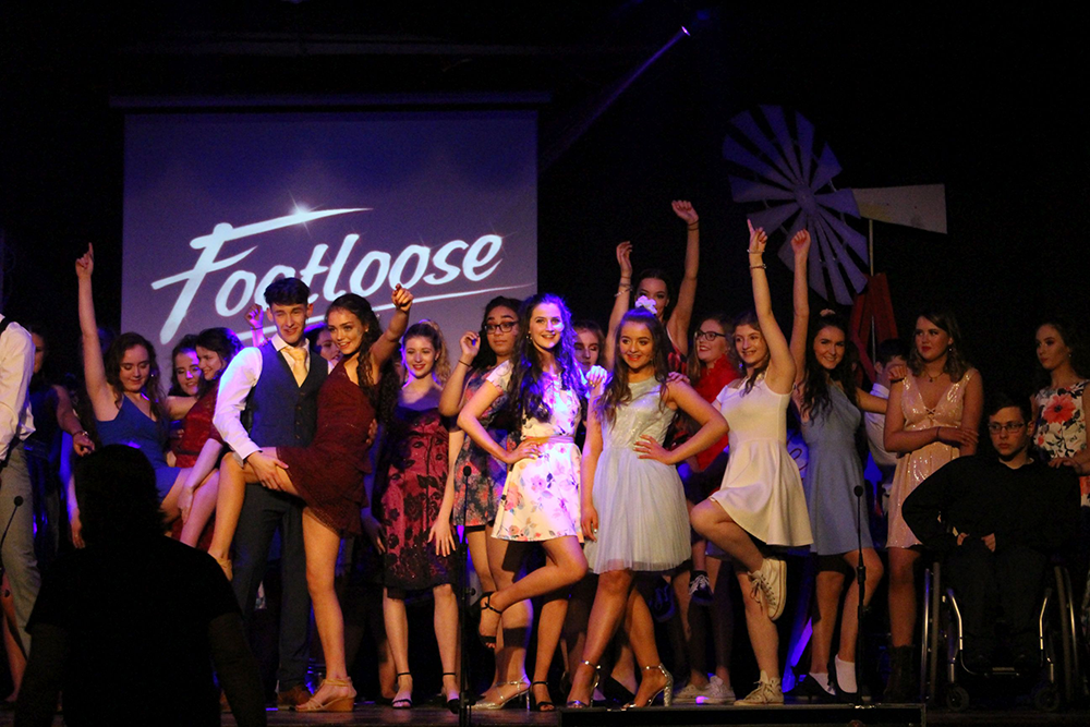 Footloose Musical in partnership with the Royal School