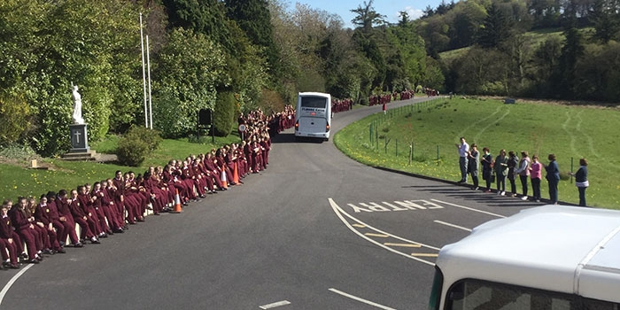Loreto College Cavan U14 send off